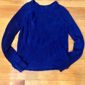 Lilly Pulitzer blue knit sweater